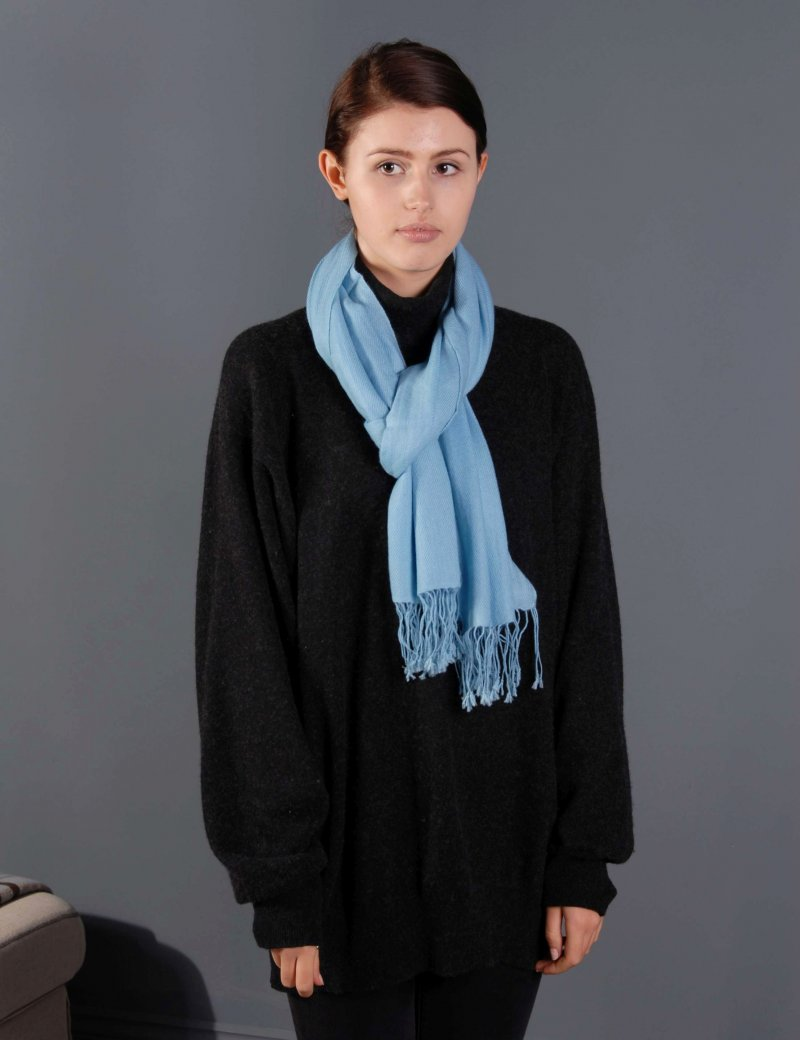 100% Cashmere Large Scarf