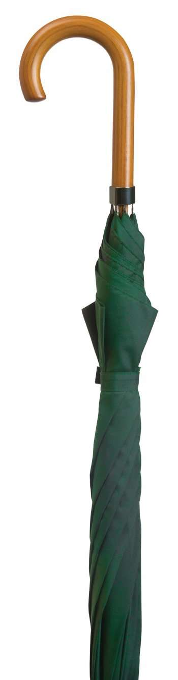 Ladies Green Crook Umbrella