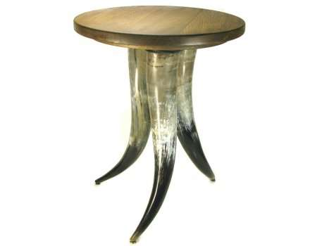 Polished Oxhorn Table