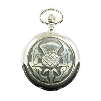 Large Thistle Pocket Watch